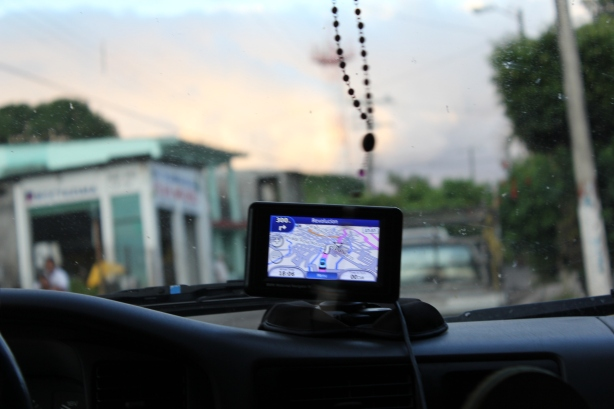 GPS in action